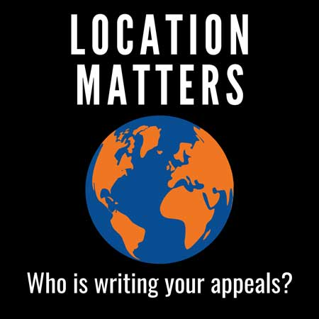 who is writing your appeals