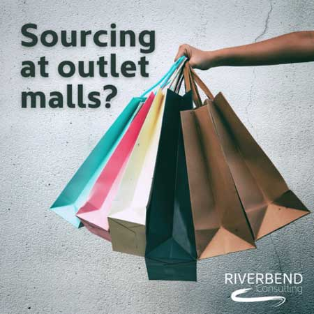 Sourcing from outlet malls