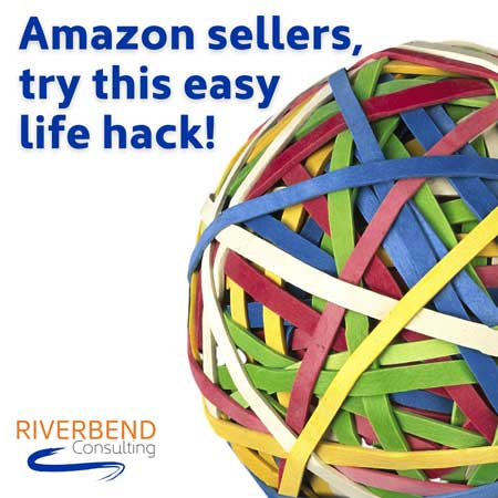 The rubberband hack for Amazon sellers.