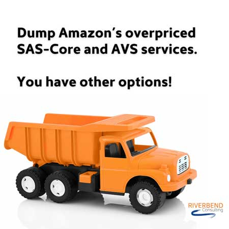 Dump Amazon's overpriced SAS-Core